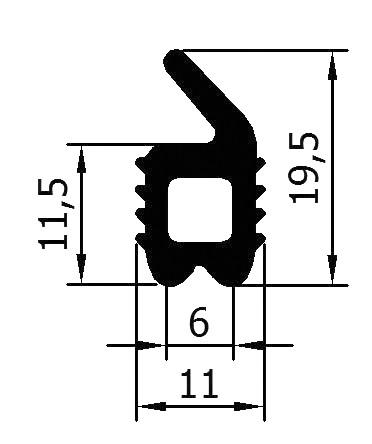 Gummi- Profil