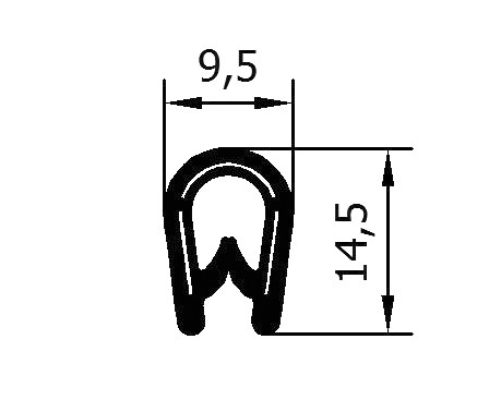 Flexible Kantenschutzprofile